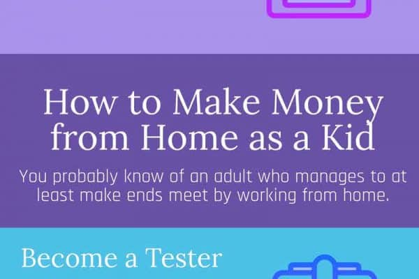 How to make Money from Home as a Kid
